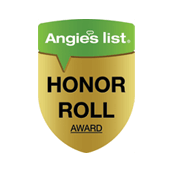 blake & sons is proud to be an ANgie's list honor roll recipient