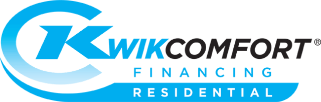 blake & sons heating & air is a proud kwikcomfort financing residential provider