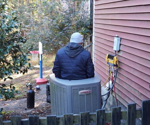 goose creek heat pump repair