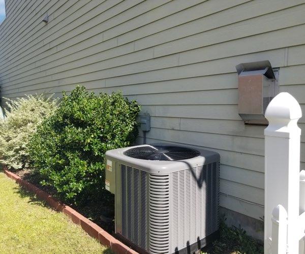 new air conditioner installed in summerville