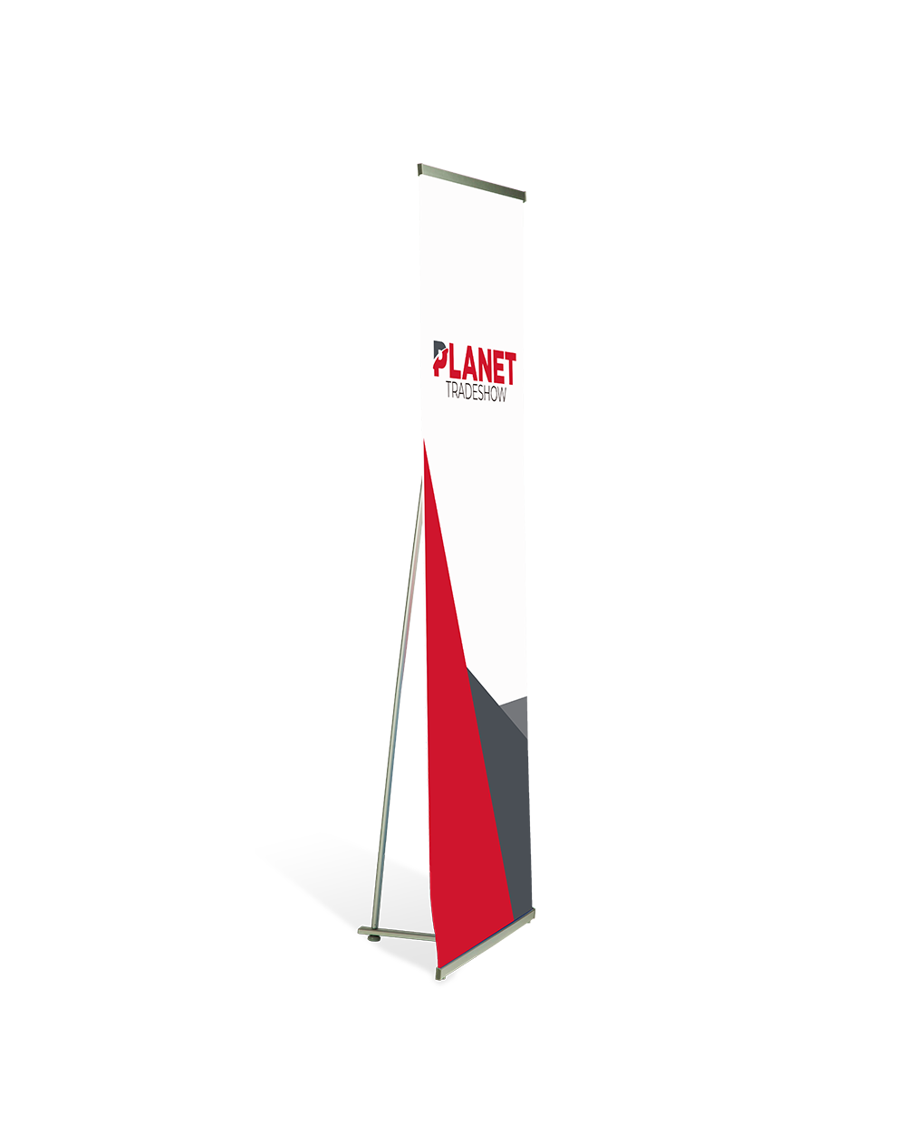 "36"" L Banner Stand"
