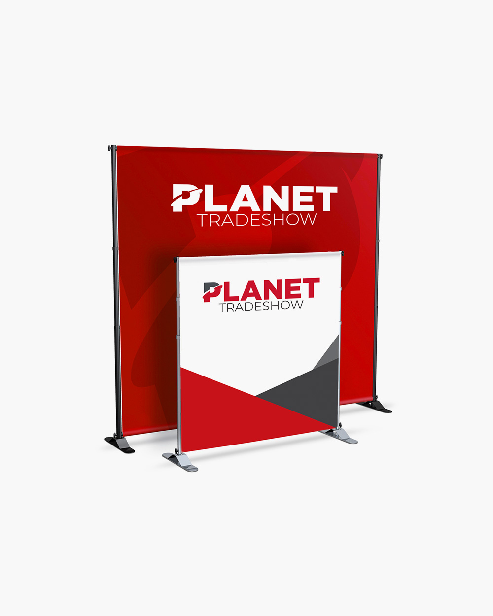 8ft x 8ft Adjustable Banner Stand