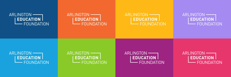 Arlington Education Foundation logos