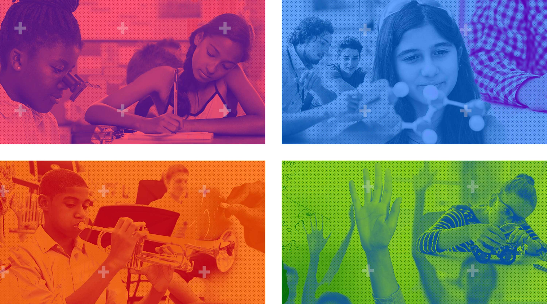 Arlington Education Foundation Graphic Montages