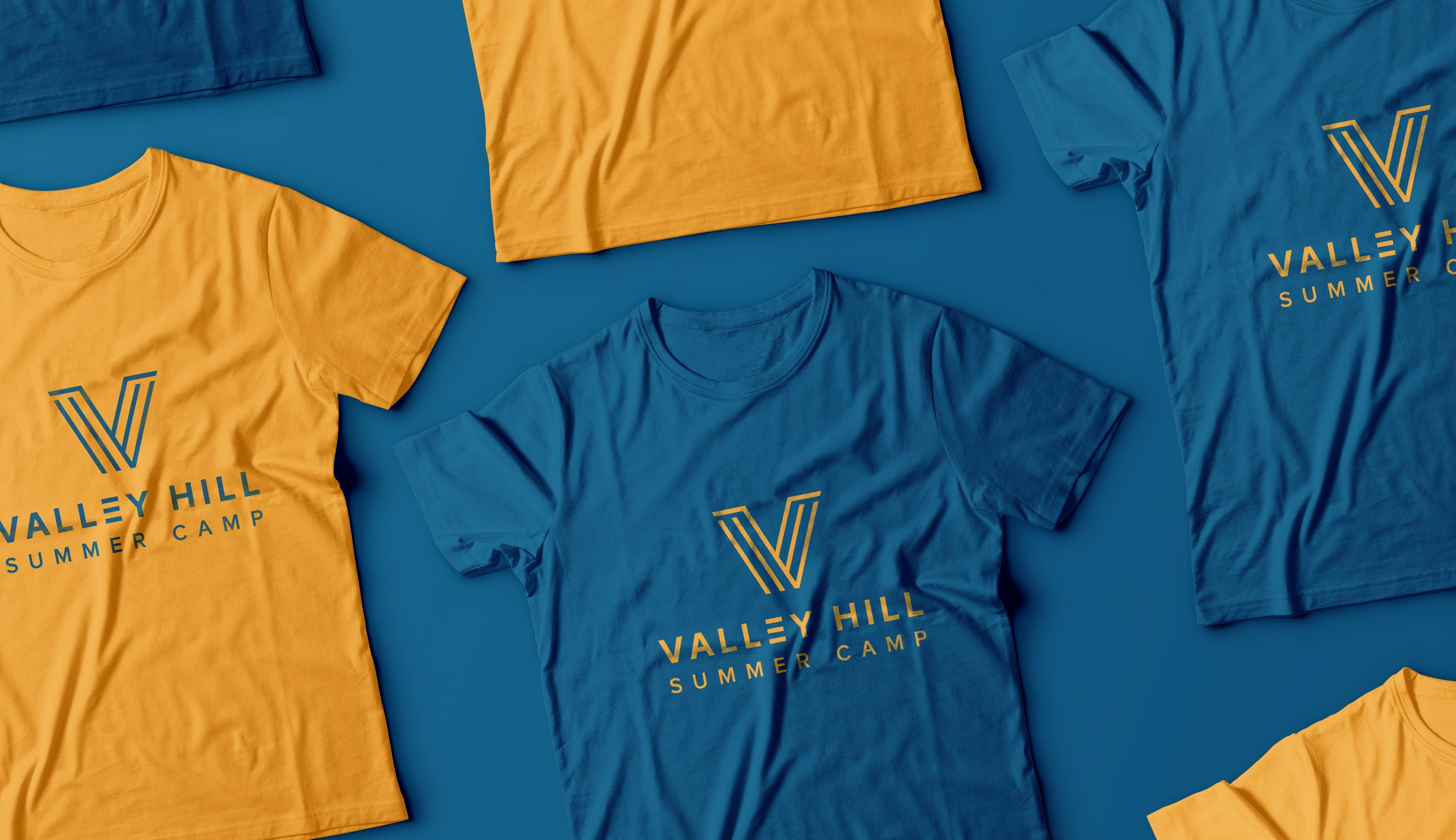 Valley Hill Summer Camp t-shirts