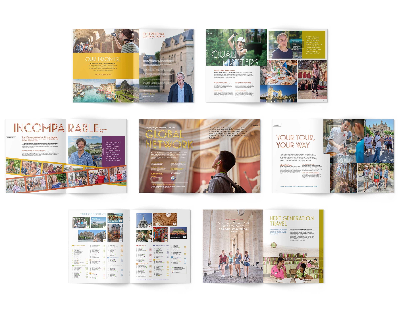 ACIS Catalog interior spreads