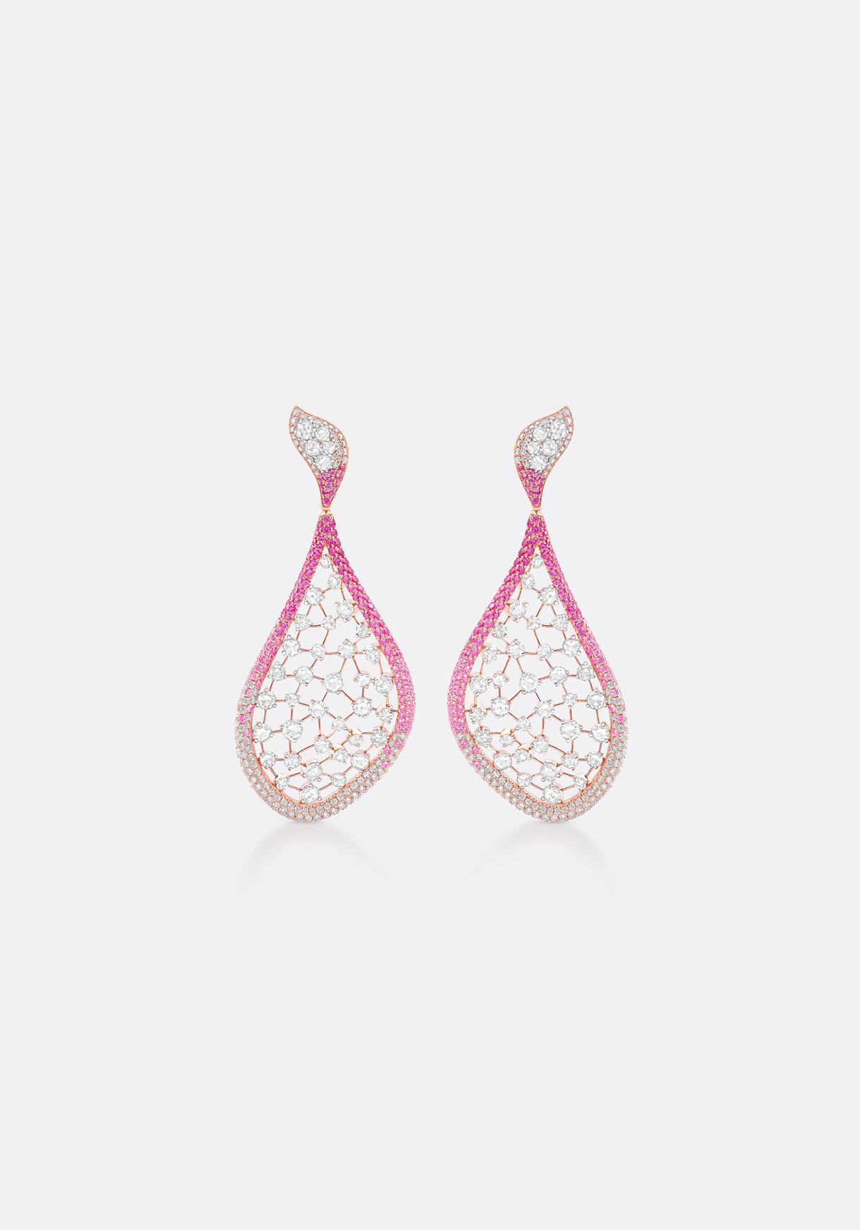 Earrings - splashes of colour evoke joy.