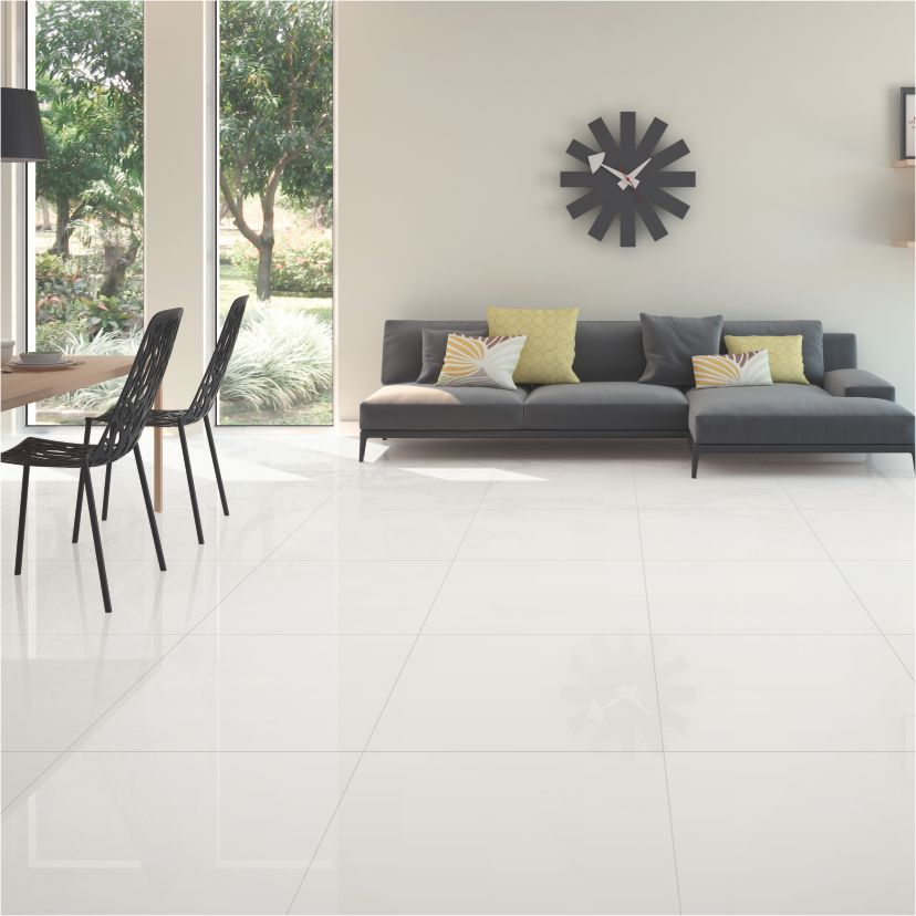 Snow White - Q60110 | Granite Tile