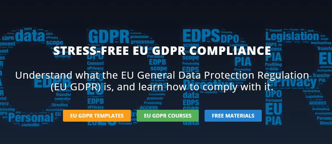 Download free EU GDPR resources and materials from EUGRPR Academy