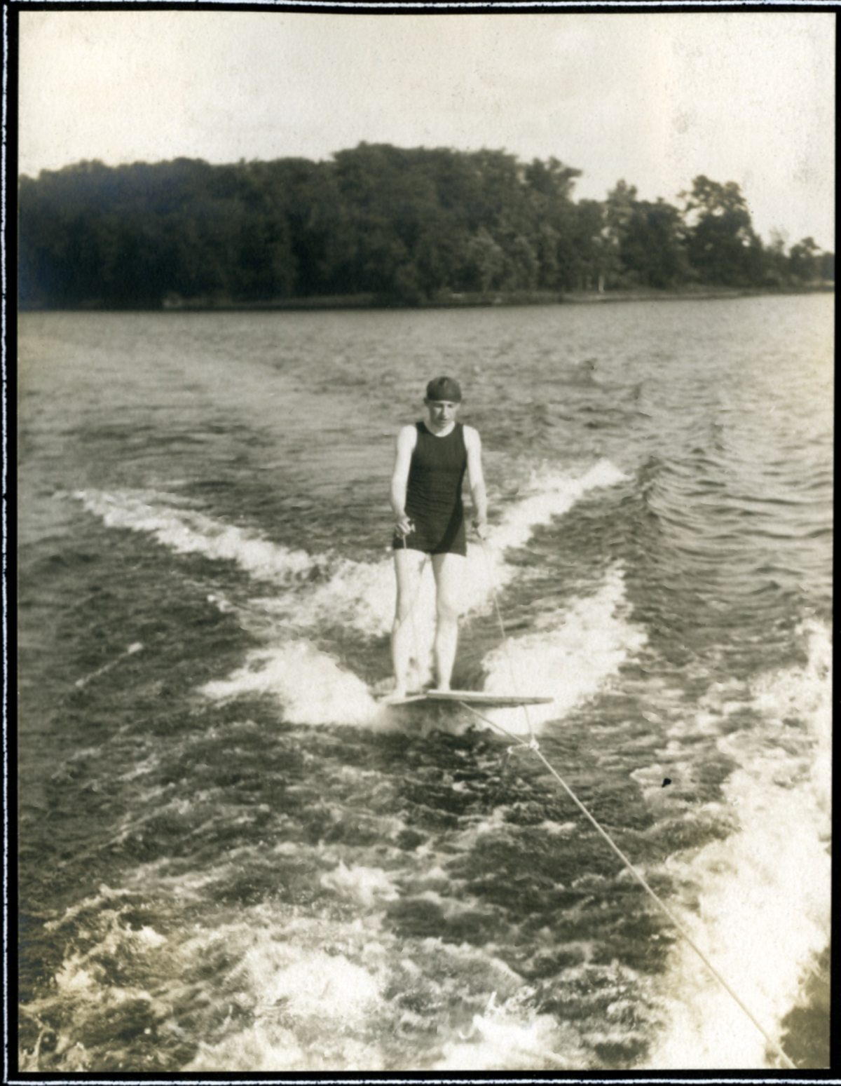 Water skiing at Stout's Island Lodge