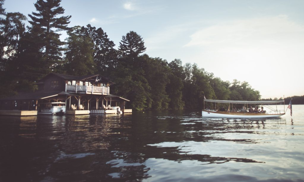 Elco boat cruise