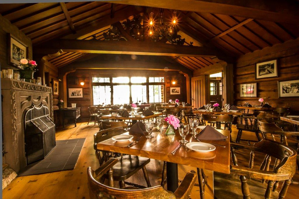 Dining in the Main Lodge