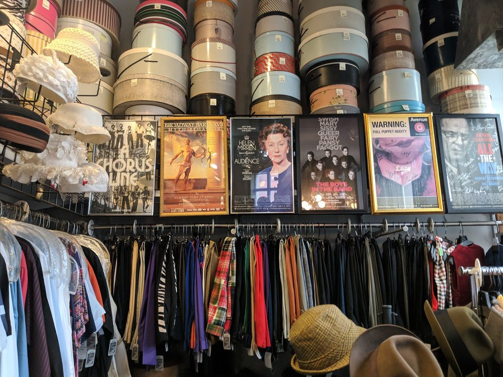 selection of vintage items at Eons