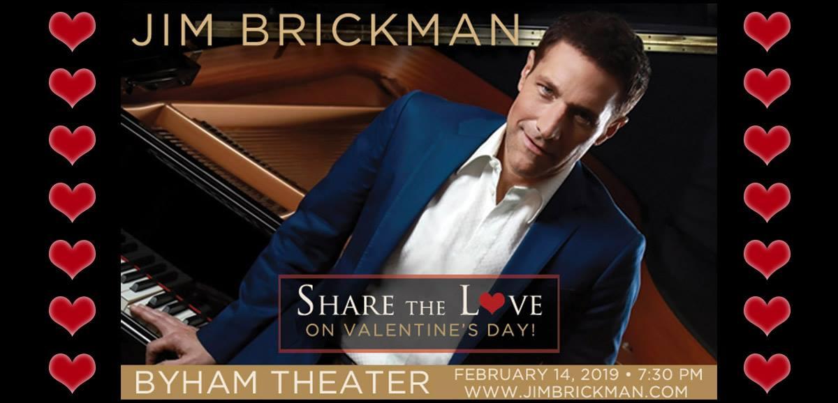 Jim Brickman Concert poster