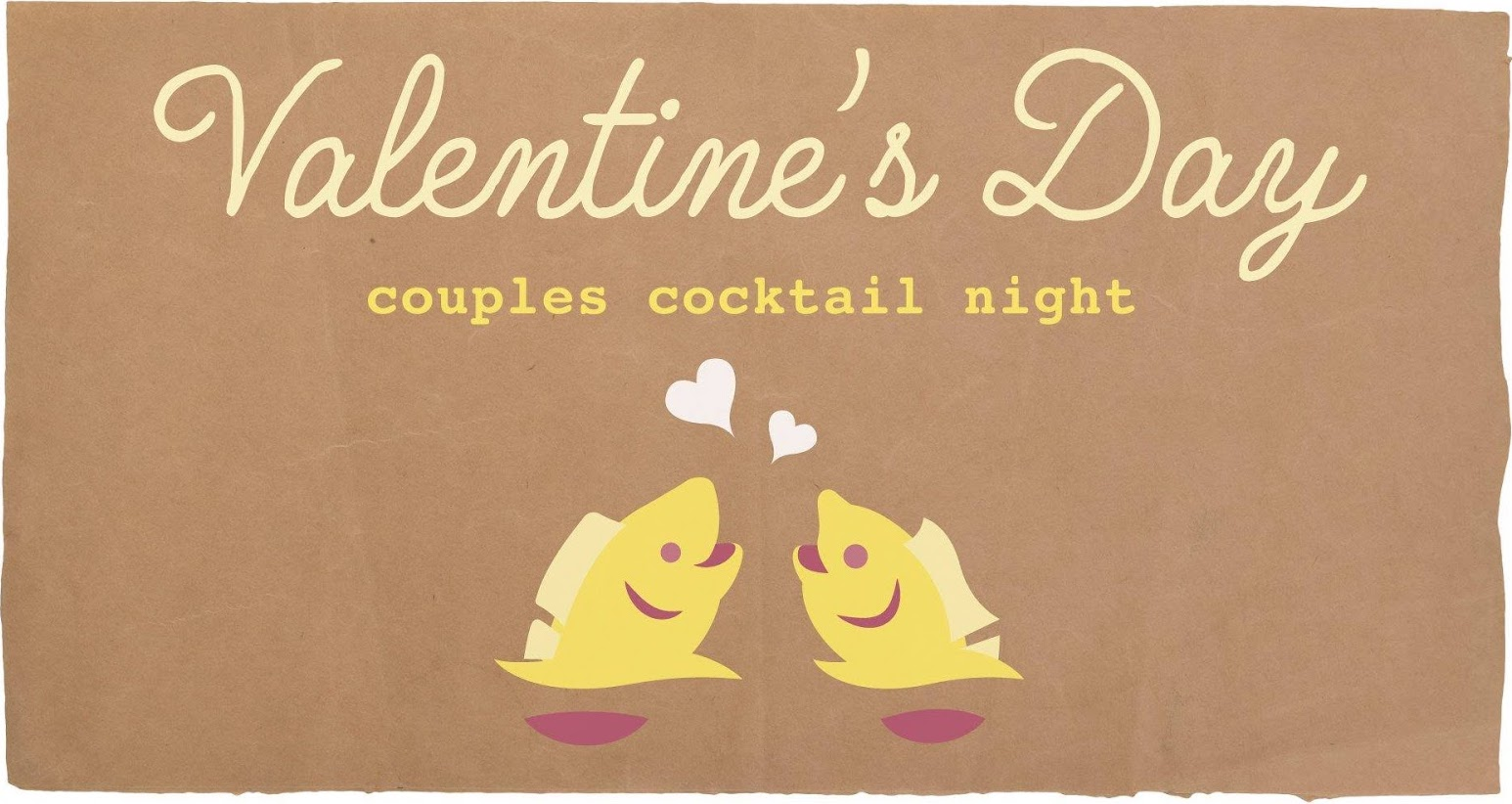 Couple Cocktail Night for Valentine's Day