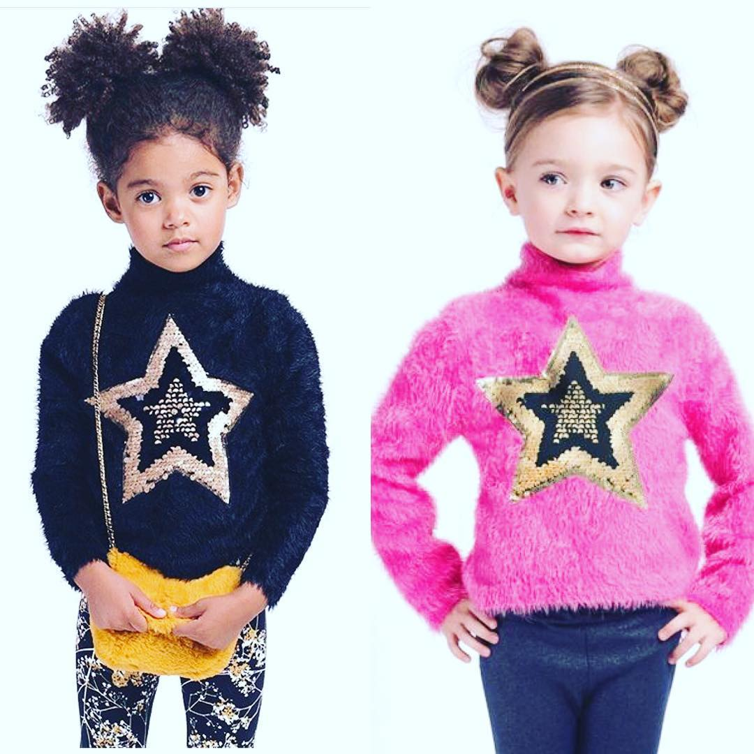 little girls in outfits from Kids and Company
