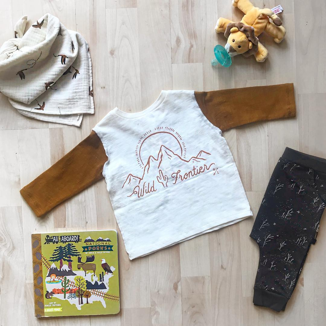 kids clothes outfit from Brambler Boutique