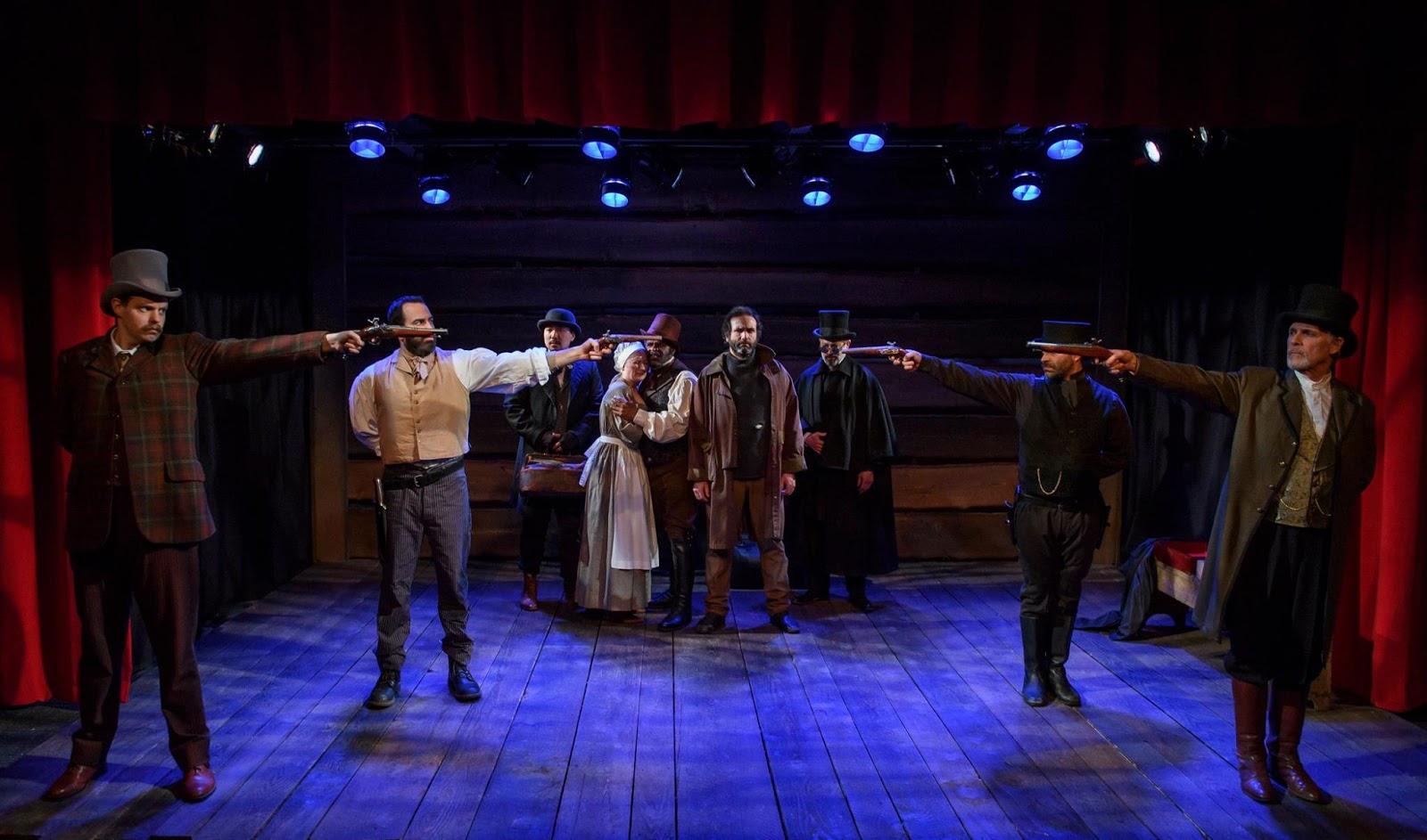 actors in Barebones Productions Pittsburgh