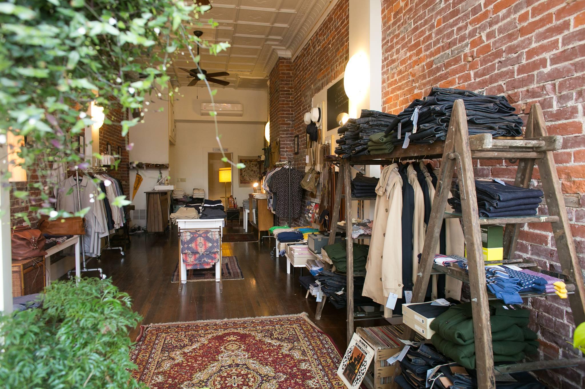 Vestis menswear shop