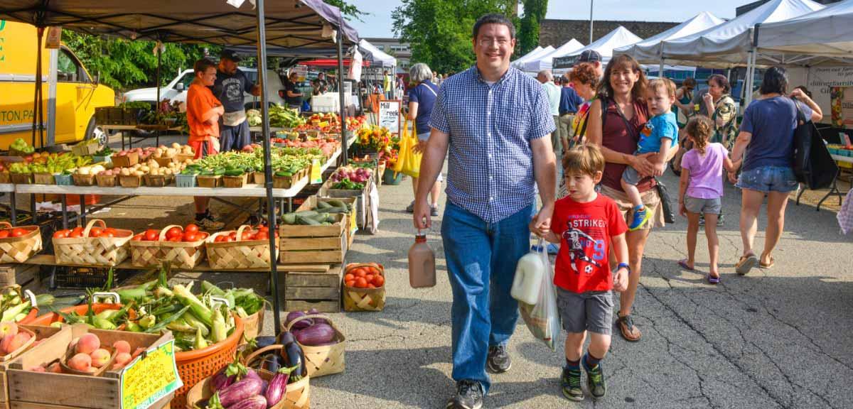 Farmer's Market in Pittsburgh
