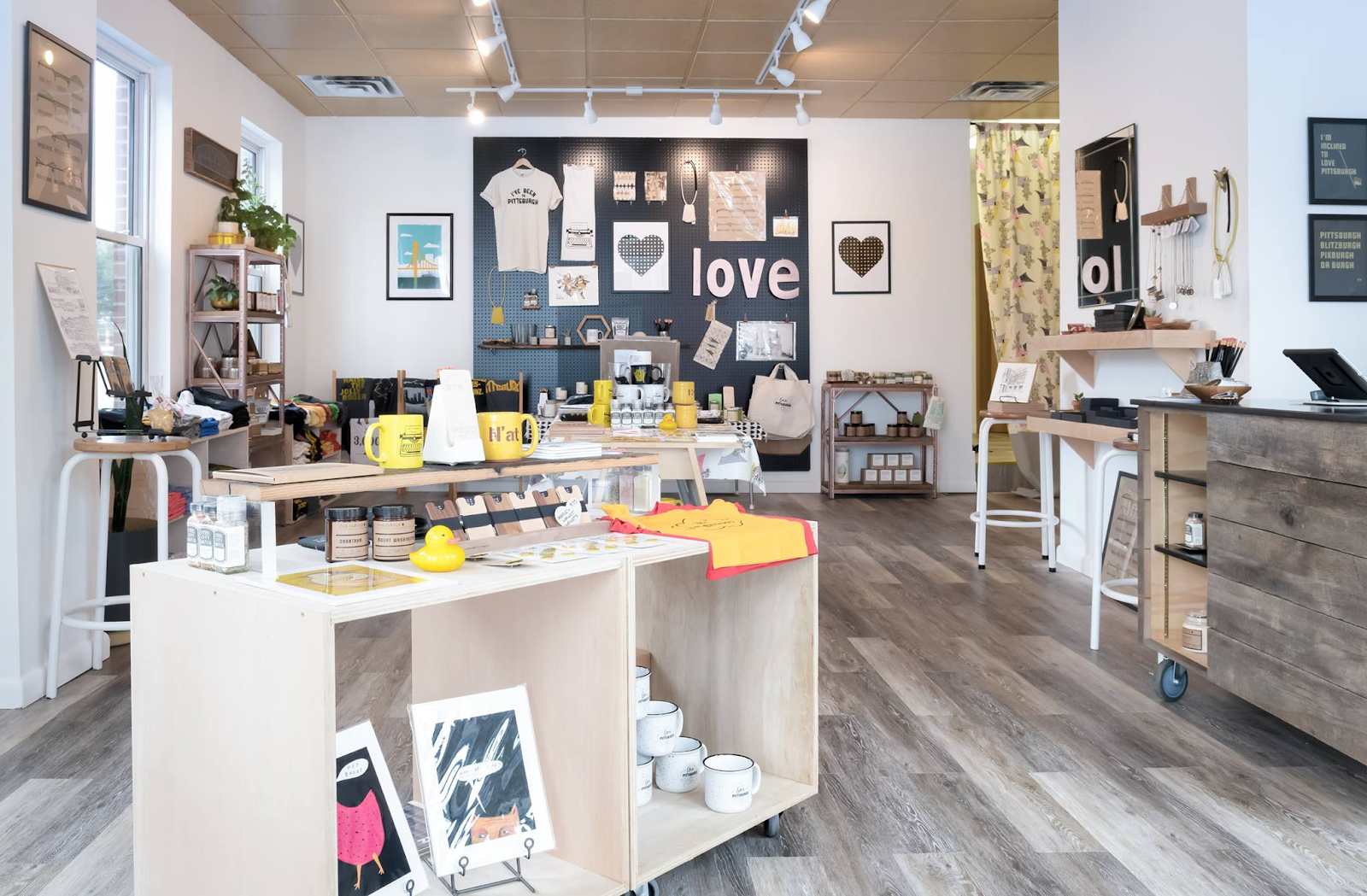 Love, Pittsburgh gift shop