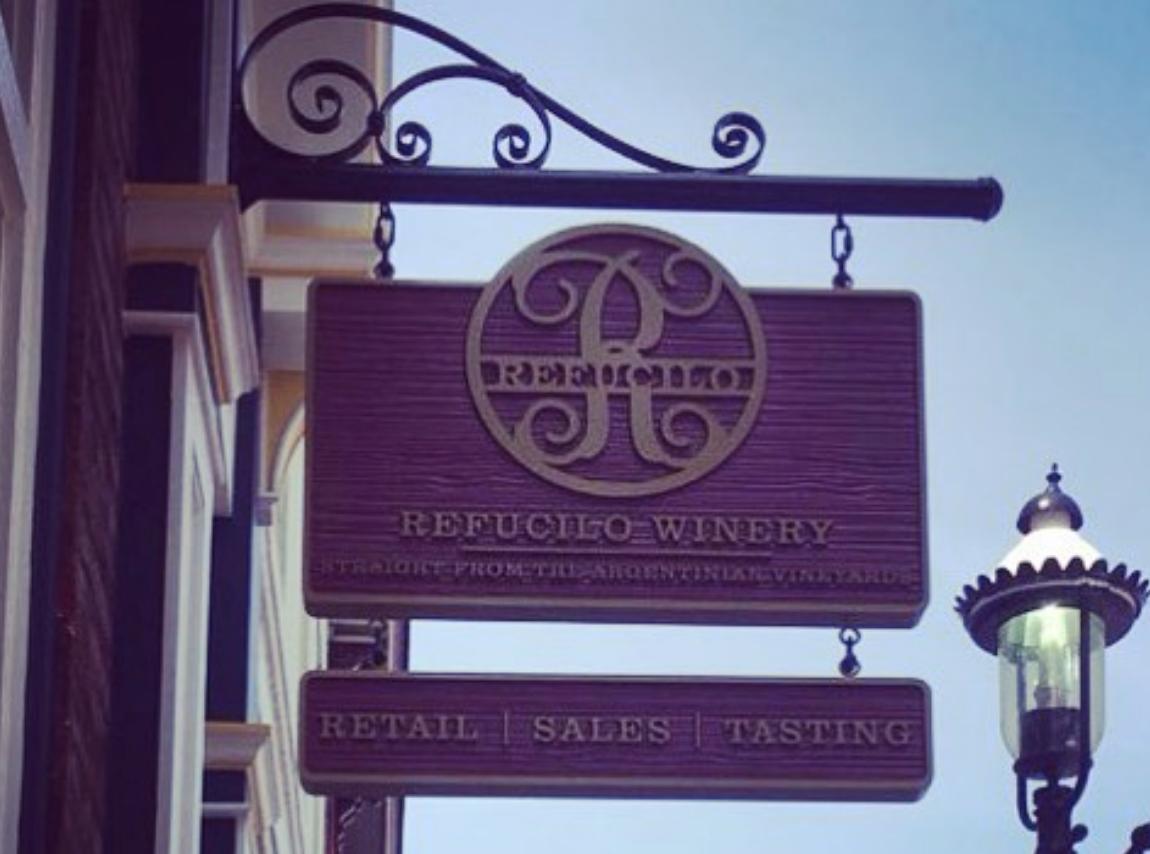 Refucilo Winery sign