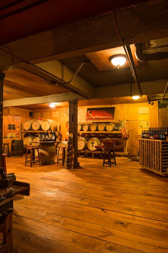 Engine House 25 Wine Cellar