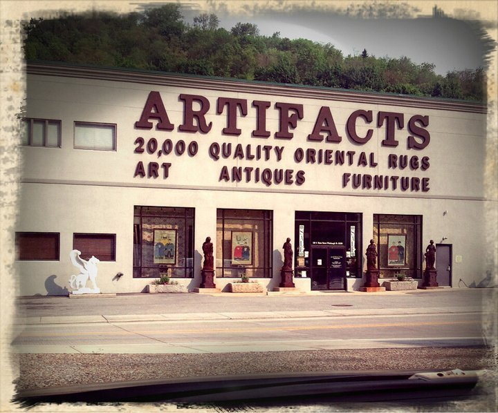 artifacts store front
