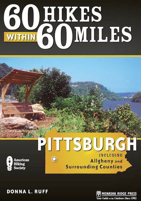 Hiking Guide Front Cover For Pittsburgh