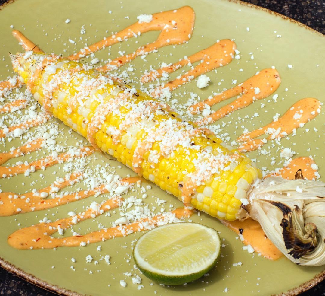 corn at mad mex