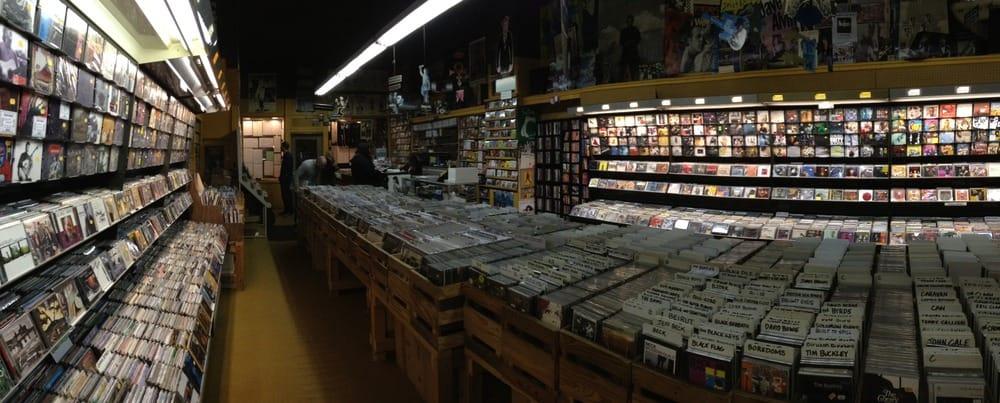 the main room of Juke Records