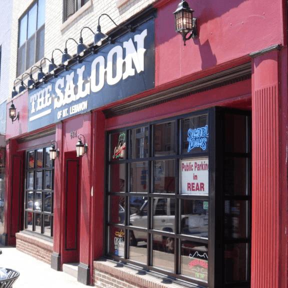 the Saloon of Mt. Lebanon