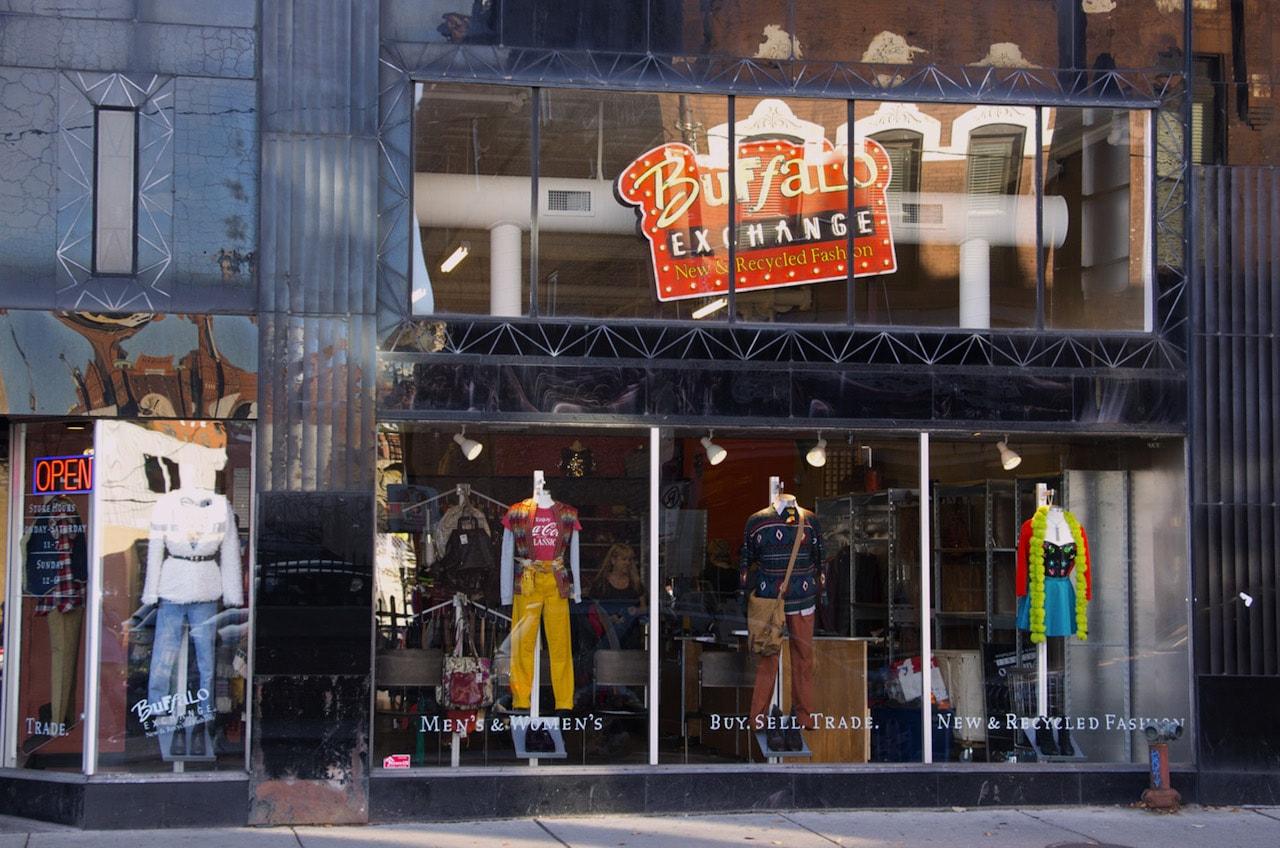 storefront of Buffalo Exchange