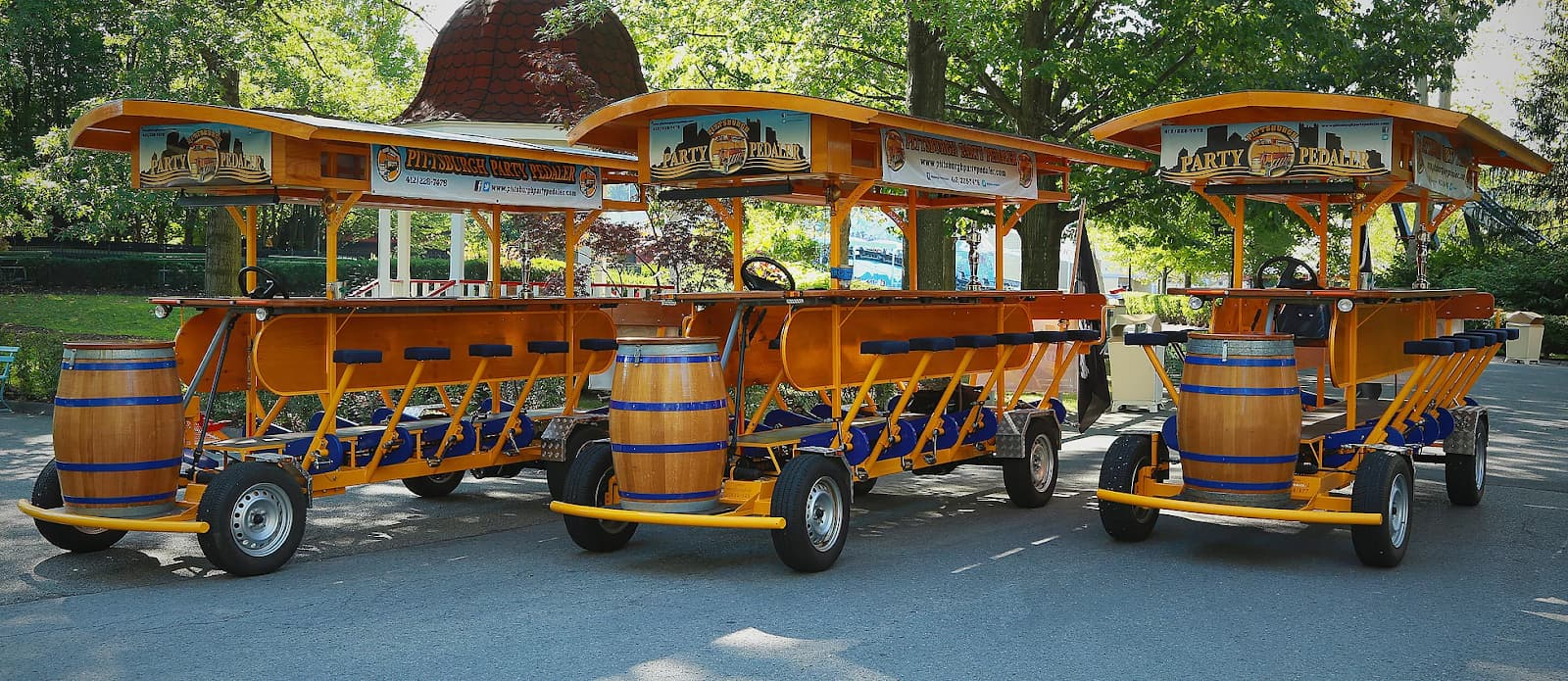 Party Bikes in downtown Pittsburgh