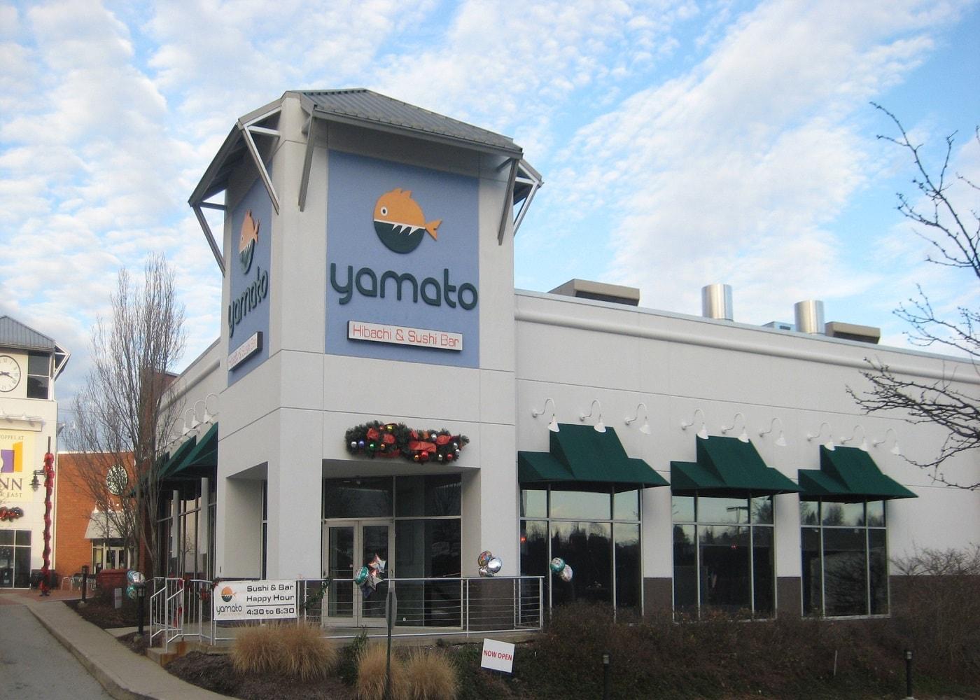 storefront of Yamato