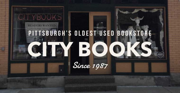 the storefront of City Books