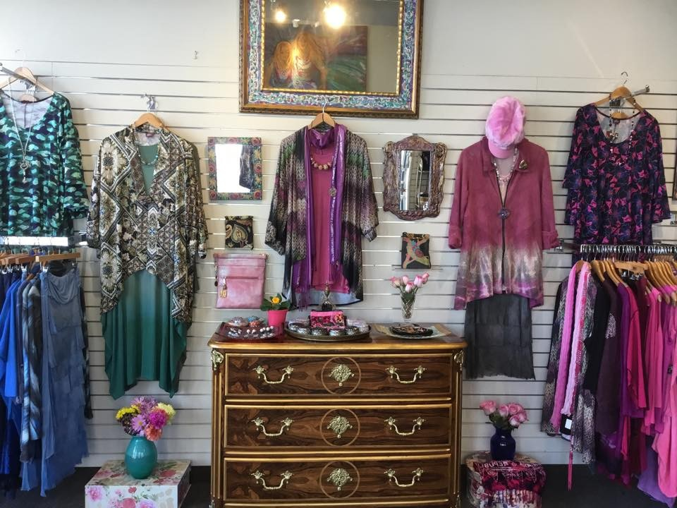 clothes, flowers, art and more at Allure