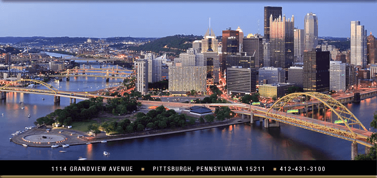 Le Mont overlooking pittsburgh