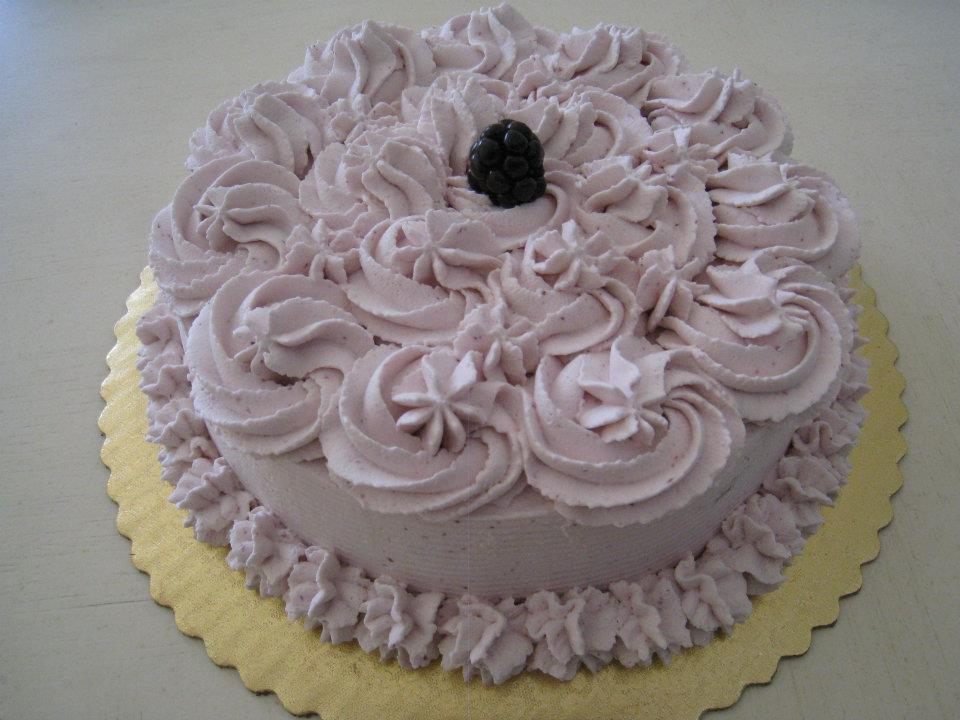 Blackberry Cake from Sumi's Cakery