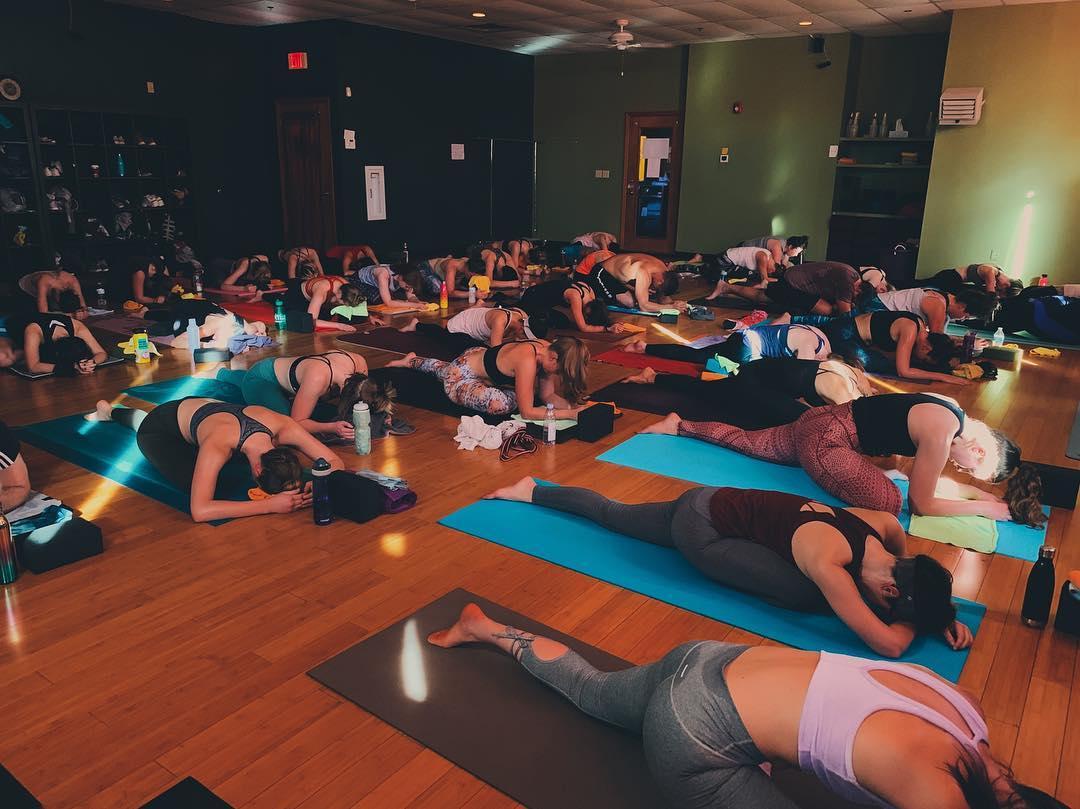 the studio at Yoga Flow Inc.
