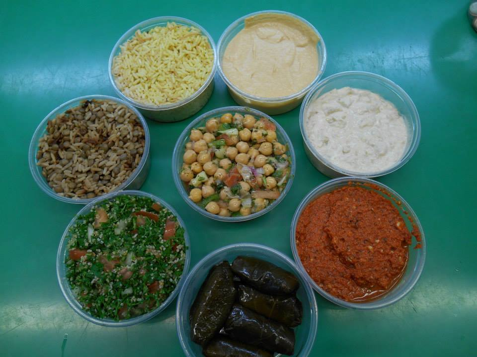 assorted goods from Salim's market