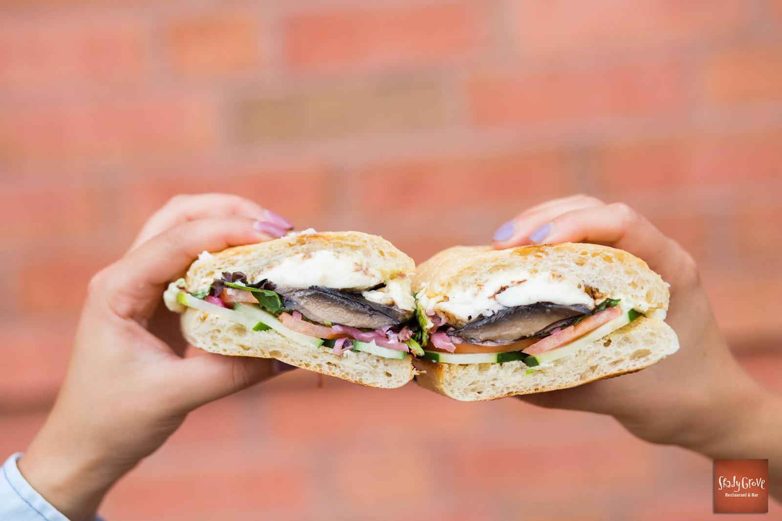 sandwich from Shady Grove