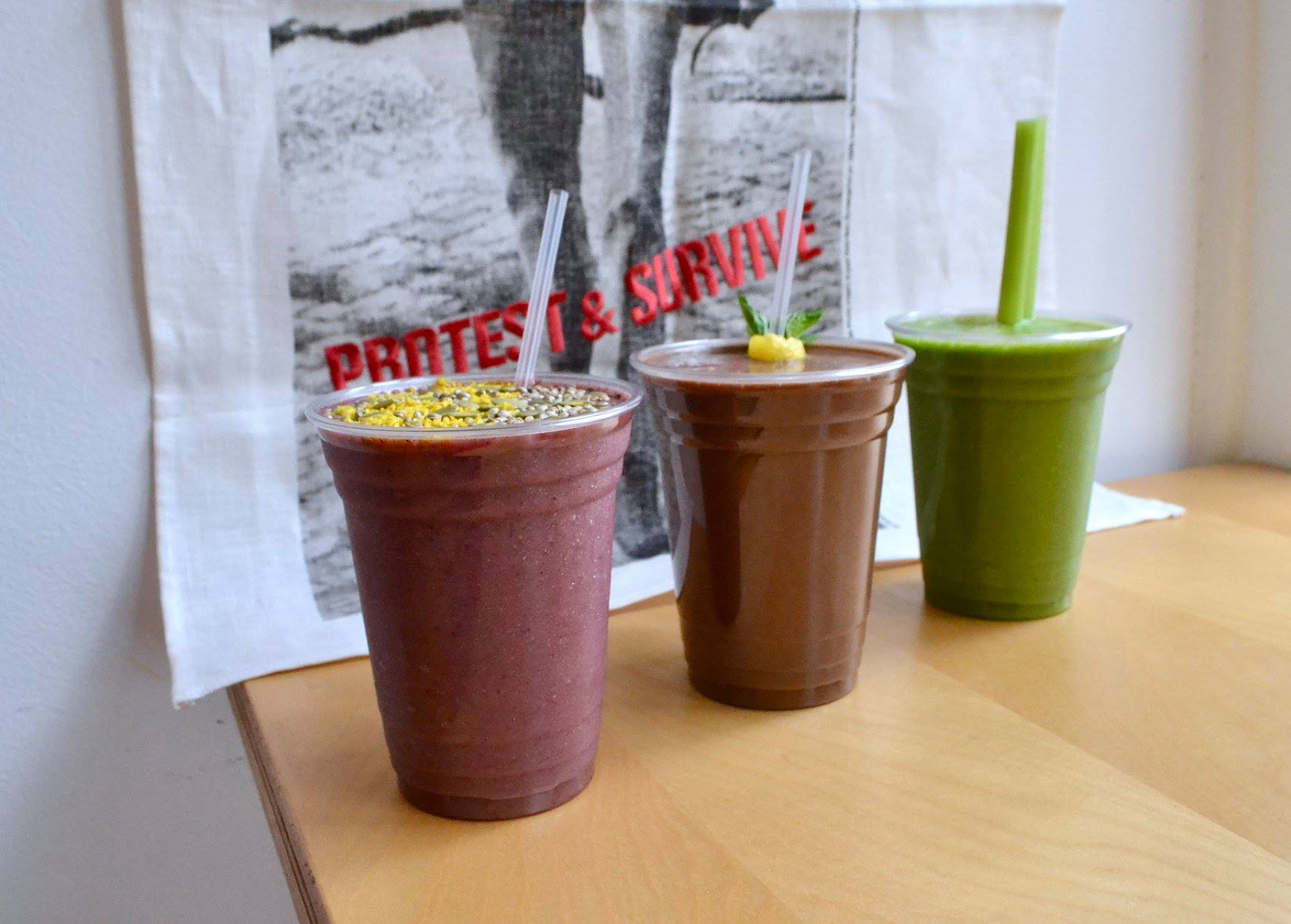 Reed and Co. smoothies
