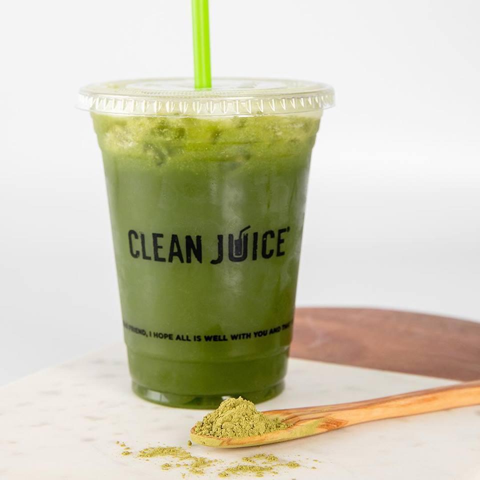 Clean Juice smoothie