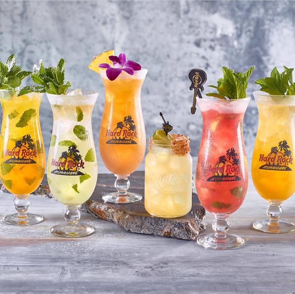 Cocktails at Hard Rock Cafe