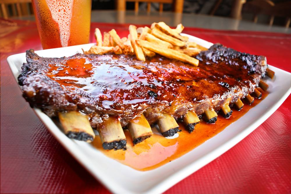 Ribs from Double Wide