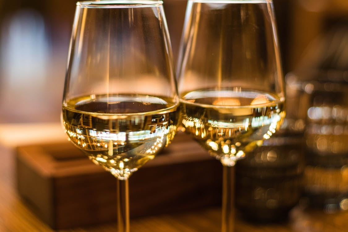 Close-Up Photography of Wine Glasses