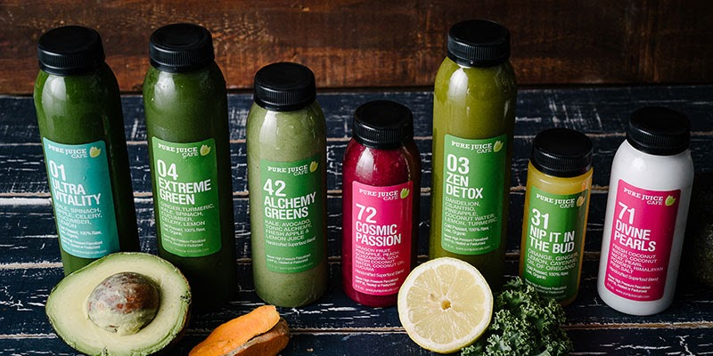 Cold Pressed Juice Cleanses