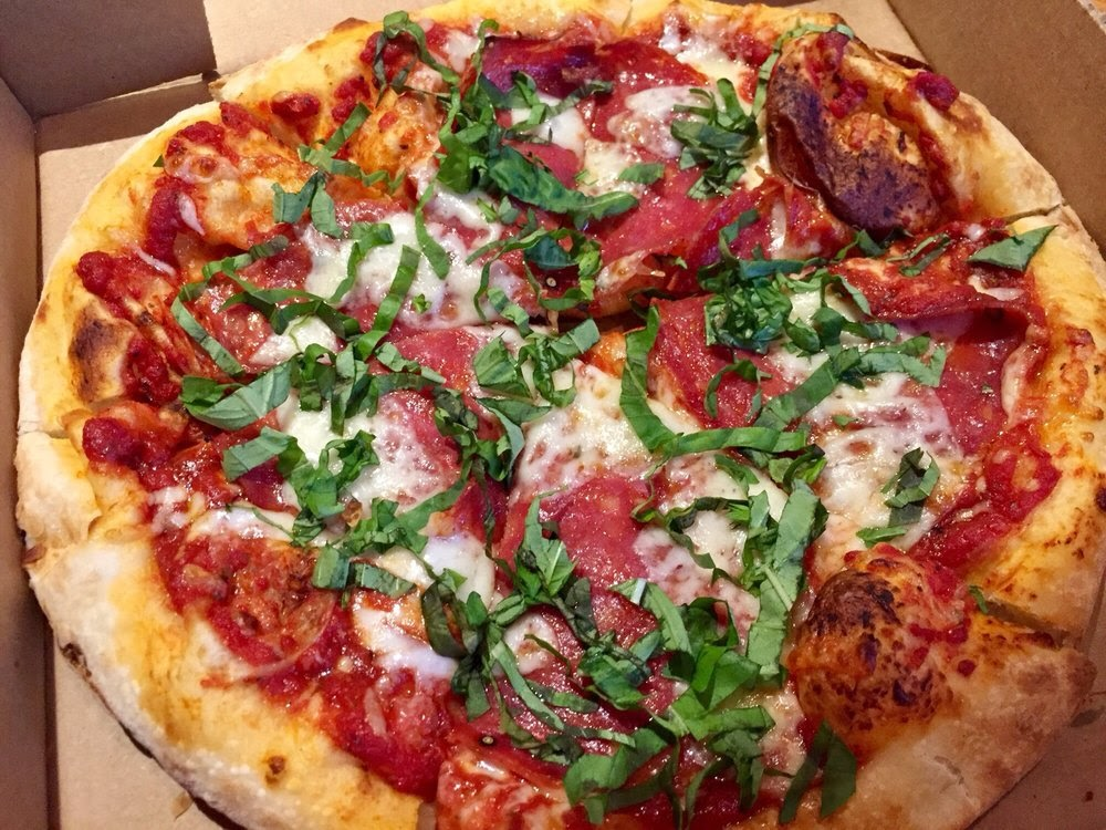 Photo of Spartan Pizza - Austin, TX, United States. Adonis just wasn't that good - won't get this again