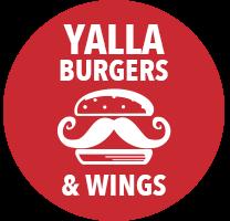 Home | Yalla Burgers & Wings
